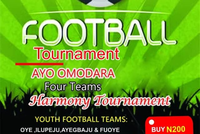 Football lovers in Ekiti, think no further, this Easter is fun for you already.